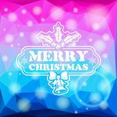 Christmas Mosaic Pattern — Stock Vector