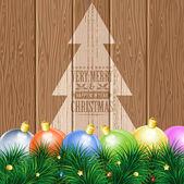 Kerstmis thema — Stockvector