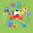 Soccer Infographics — Stock Vector #79177824
