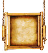 Бамбуковый объект знака — Стоковое фото