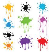 Paint splash — Stock Vector