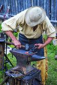 Fort Bridger Rendezvous 2014 — Stock Photo