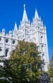 The Salt Lake City Mormons Temple — Stock Photo