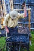 Fort Bridger Rendezvous 2014 — 图库照片