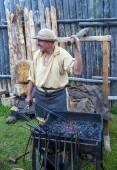 Fort Bridger Rendezvous 2014 — Stock Photo