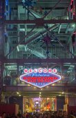 Las Vegas , Fremont Street Experience — Stock Photo
