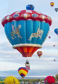 Festa dell'aerostato di Albuquerque — Foto Stock