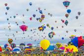 Albuquerque Balloon Fiesta — Foto Stock