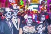 Las Vegas Halloween parade — Stock Photo
