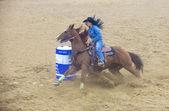 Rodeo indiano finali nazionali — Foto Stock