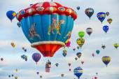 Albuquerque Balloon Fiesta — Zdjęcie stockowe
