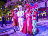 Winter parq show in the Linq Las Vegas — Stock Photo