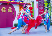 Las Vegas , Chinese New year — Stock Photo