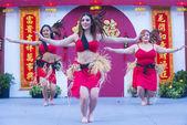 Las Vegas , Chinese New year — Stock Photo