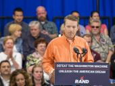 Rand Paul Campaigns at Las Vegas — Stock Photo