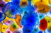 Bellagio glass flowers — Stock Photo