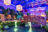 Bellagio Hotel Conservatory & Botanical Gardens — Stok fotoğraf