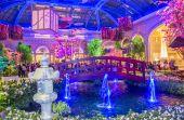 Bellagio Hotel Conservatory & Botanical Gardens — Stock Photo