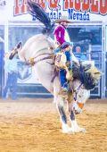 Feira do Condado de Clark e rodeio — Fotografia Stock