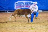 Clark county fair a rodeo — Stock fotografie
