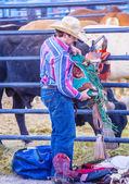 Helldorado days Rodeo — Stock Photo
