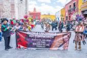 Festival of Valle del Maiz — Stock Photo