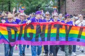 New York  gay pride parade — Stock Photo