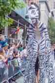 Parada do orgulho gay de Nova Iorque — Fotografia Stock