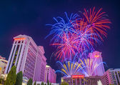Las Vegas 4th of July — Stock Photo