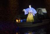 Kabuki spectacle at the Fountains of Bellagio — Foto de Stock