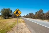 коала предупреждение — Стоковое фото