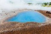 Blue pool Blesi — Stock Photo