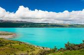 Lago pukaki — Foto Stock