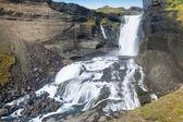 Icelandic waterfall — Stock Photo