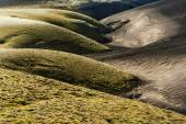 Dunes of two colors — Stock Photo