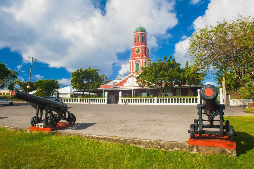 Фотообои Барбадос часовой башни