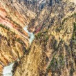 Grand Canyon of the Yellowstone — Stock Photo #78513486