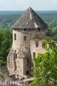 Castle in Cesis — Stock Photo