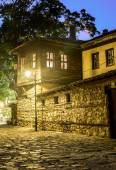 Old house at night — Stock Photo