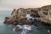 Rocky coast near Tyulenovo, Bulgaria — Stock Photo