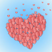 Valentines hjärta — Stockfoto