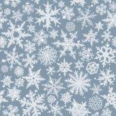 Seamless snowflakes — Stock Photo