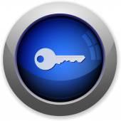 Security button — Stock Vector