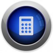 Calc button — Stock Vector