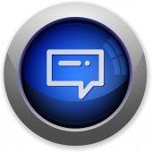 Message button — Stock Vector