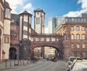 Frankfurt am Main old town — Stock Photo