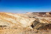 Negev desert landscape  — Stock Photo