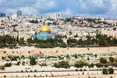 Panorama of city jerusalem — Stok fotoğraf