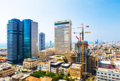Panorama of the city Tel Aviv streets — Photo