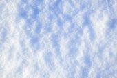Background of real snow — Foto Stock